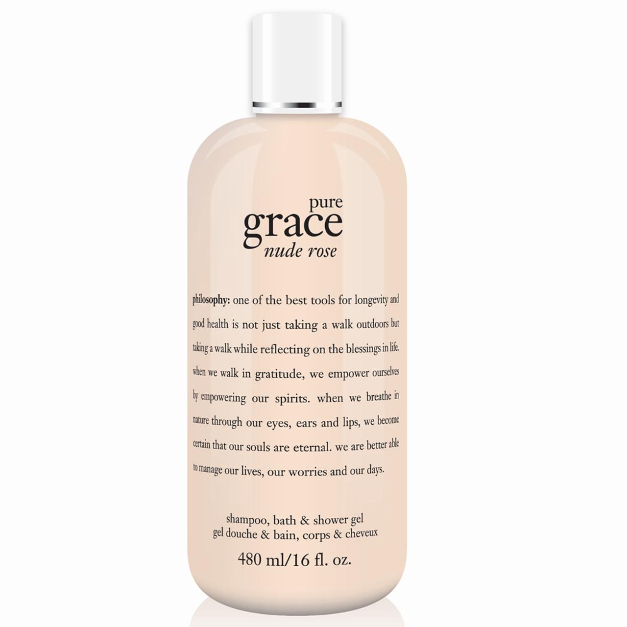 philosophy Pure Grace Nude Rose Shower Gel BeautifiedYou.com