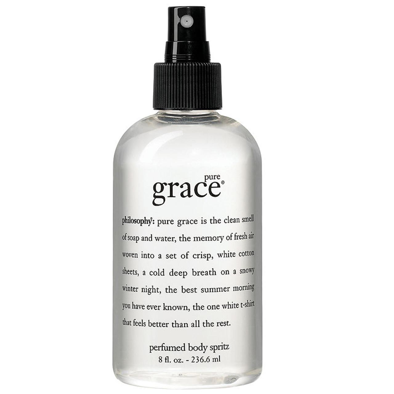 philosophy Pure Grace Perfumed Body Spritz BeautifiedYou.com