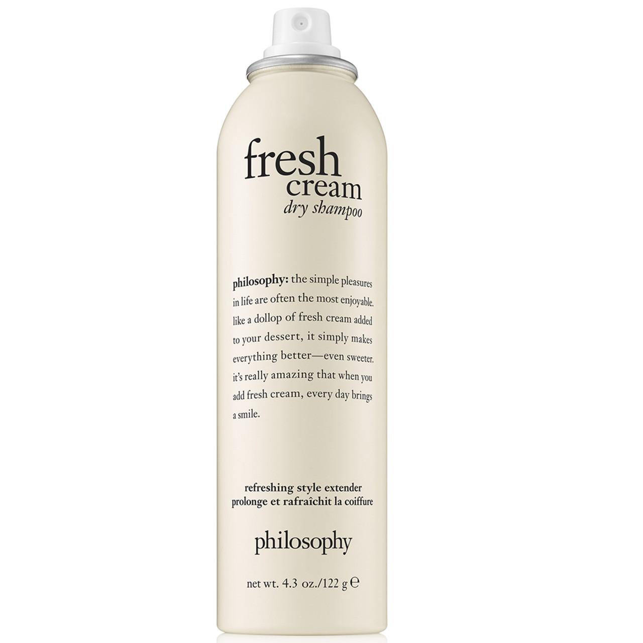philosophy Fresh Cream Dry Shampoo