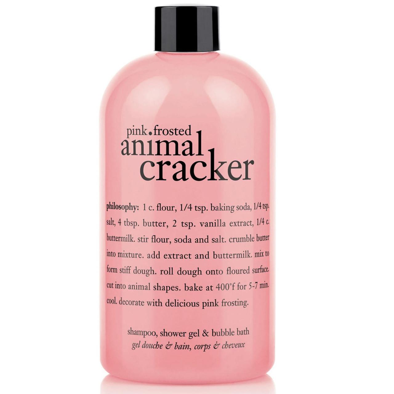 philosophy Pink Frosted Animal Cracker Shower Gel