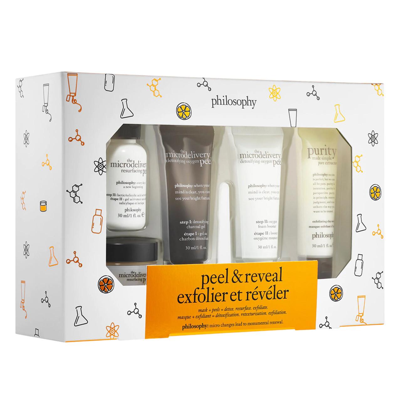 philosophy Peel & Reveal Kit