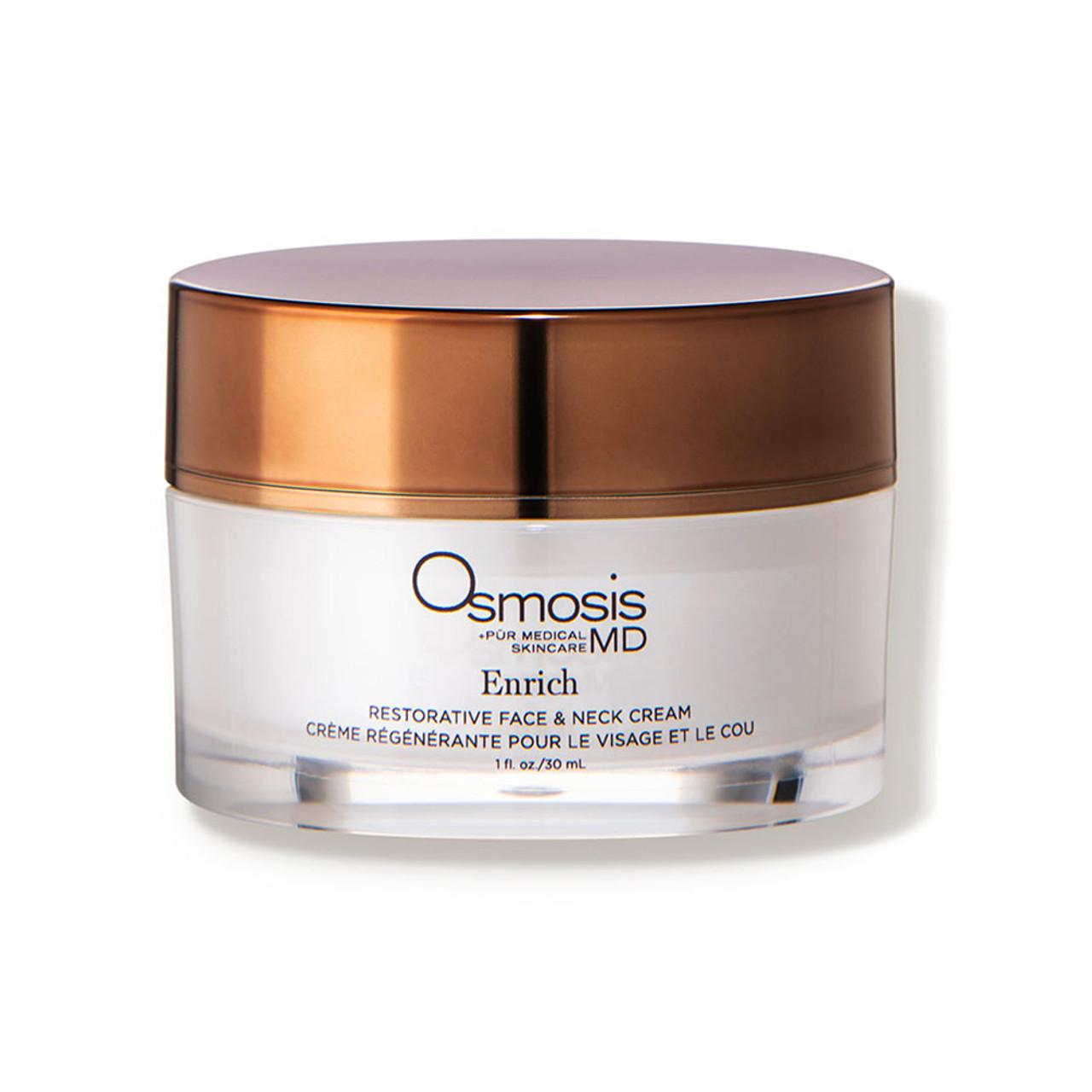 Osmosis +Skincare MD Enrich - Restorative Face & Neck Cream BeautifiedYou.com