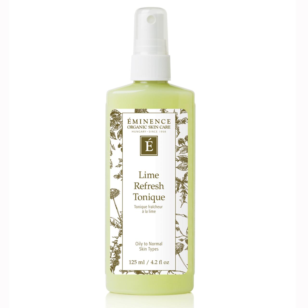 Eminence Lime Refresh Tonique BeautifiedYou.com