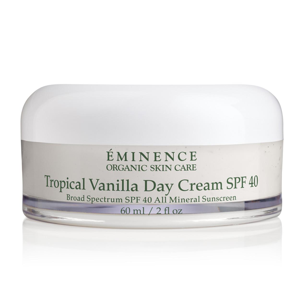 Eminence Tropical Vanilla Day Cream SPF 40 BeautifiedYou.com