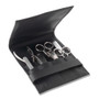 The Art of Shaving Manicure Set 7Pcs - Black Leather