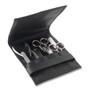 The Art of Shaving Manicure Set 7Pcs - Black Leather BeautifiedYou.com