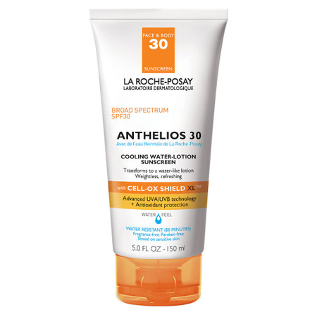 La Roche Posay Anthelios Cooling Water-Lotion Sunscreen SPF 30