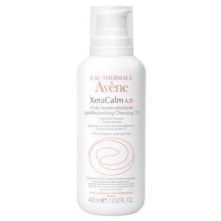 Avene XeraCalm A.D. Lipid-Replenishing Cleansing Oil
