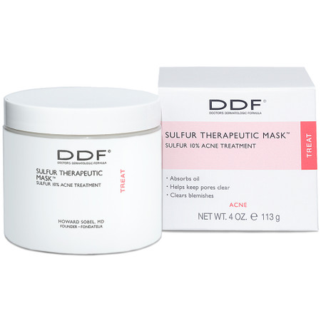 DDF Sulfur Therapeutic Mask 10%