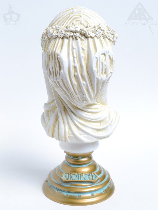 Anesthesia Bust By Doktor A White