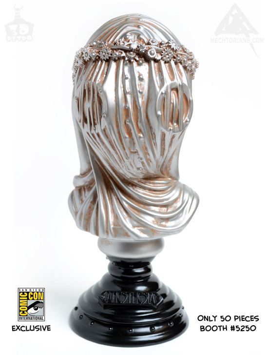 Anesthesia Bust By Doktor A Silver