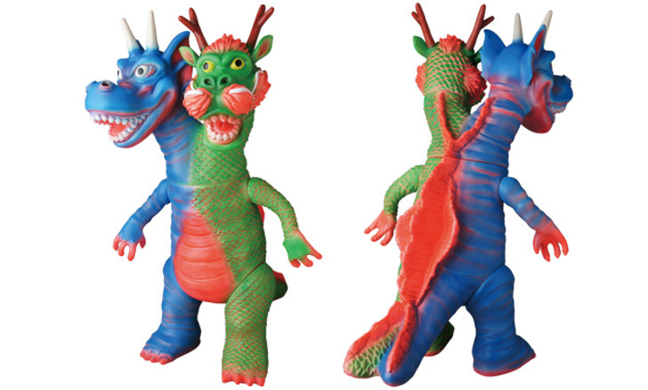Sofubi shelterbank World End Dragon