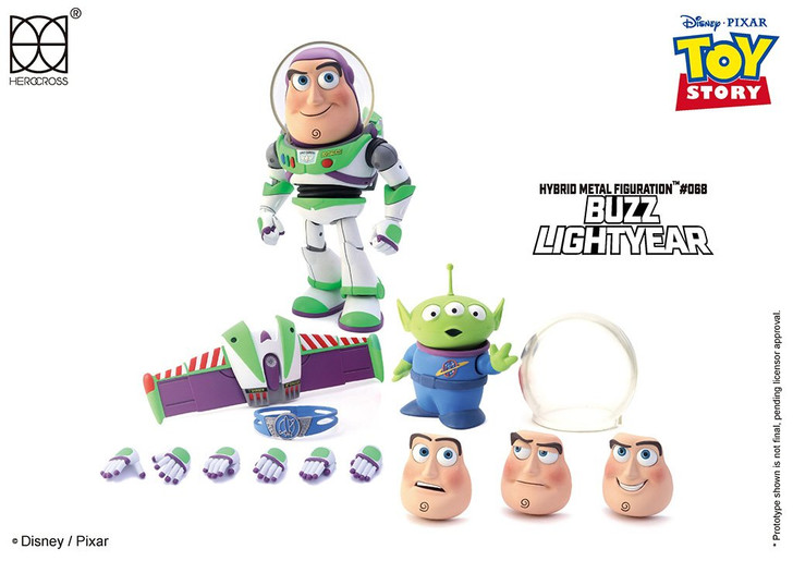Toy Story Buzz Lightyear Hybrid Metal Figure