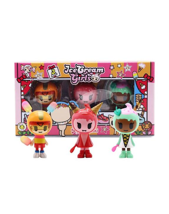Tokidoki Ice Cream Girls Mini-Figures 3-Pack