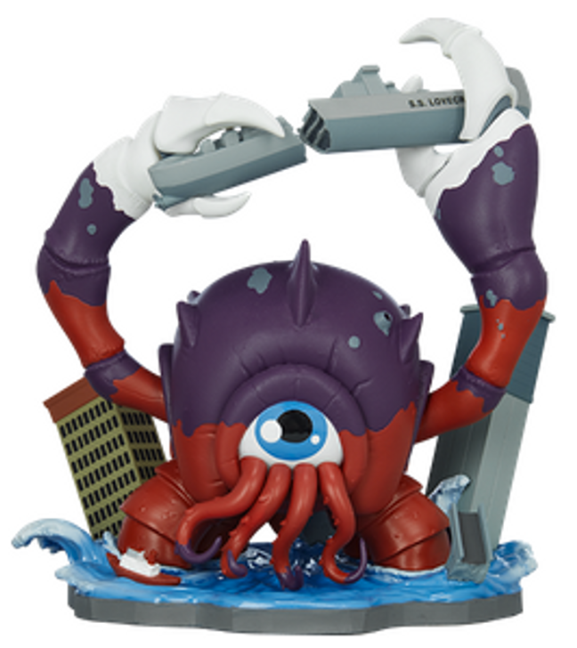 Crabthulu Terror of The Deep! By Unruly Industries