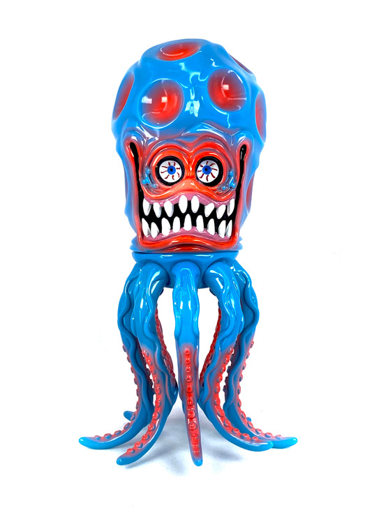 Shelterbank The Wonder Martian Skyblue/Red Sofubi Limited Edition