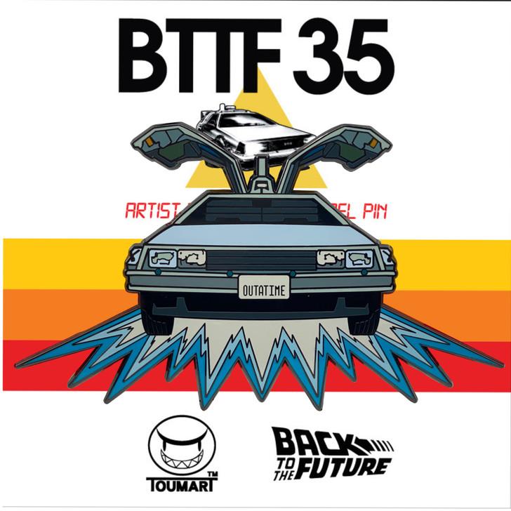 Back to The Future Delorean Pin  by Touma