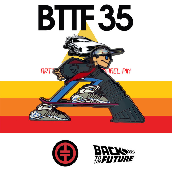 Future Boy Back to The Future Pin  by Tracy Tubera