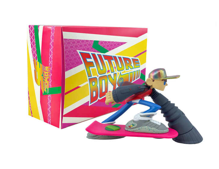 Back to the Future Future Boy Vinyl Figure by Tracy Tubera