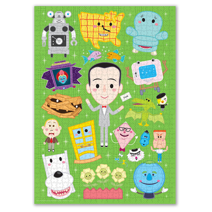 PEE-WEE'S PLAYHOUSE VARIANT COMIC CON EDITION JIGSAW PUZZLE