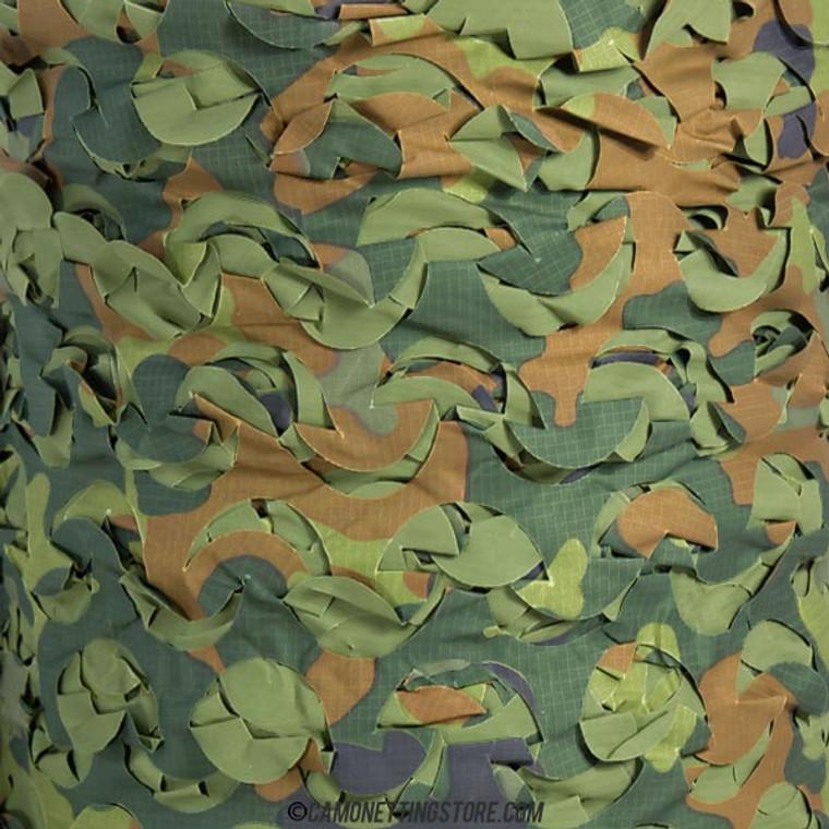 Flecktarn - Pattern Closeup