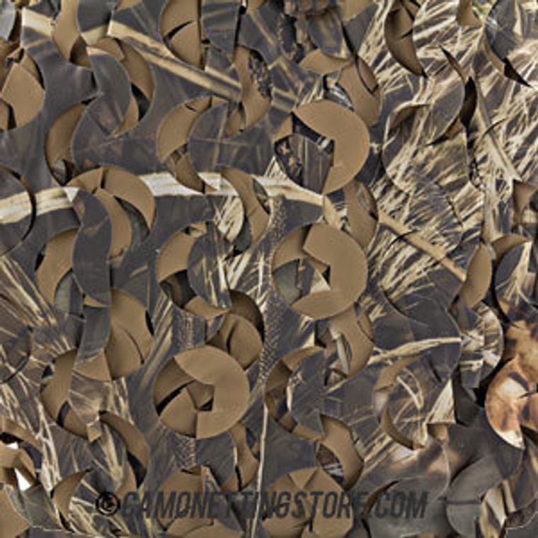 Realtree MAX4-HD Camo Netting, Ultra Lite- Sized by the Foot