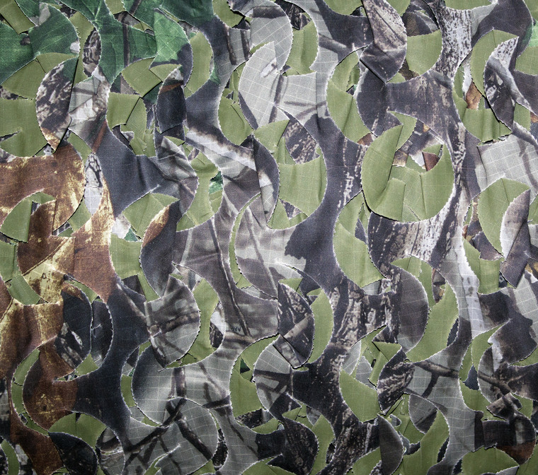 Realtree Hardwoods Green Specialist Series Camo Netting, Ultra Lite- Sized by the Foot