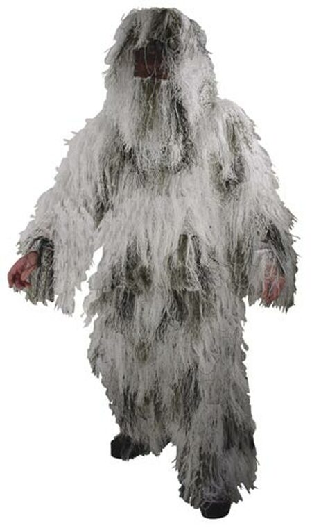 Snow Camo Sniper Ghillie Suit