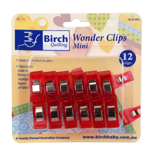 Birch Wonder Clips Small 12 Pack