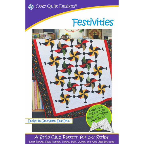 Festivities Quilt Pattern By Cozy Quilt Patterns