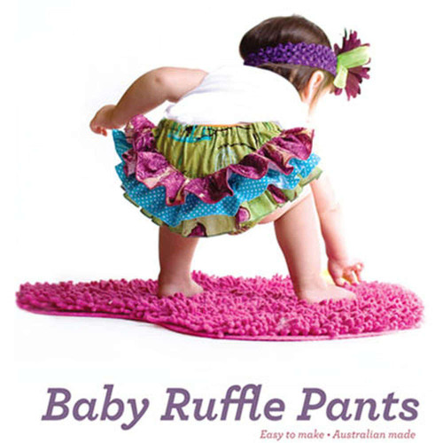 Baby Ruffle Pants Pattern By Betty Kingston