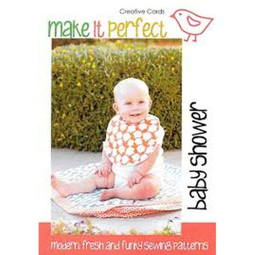 Baby Shower Bib and Blanket Set Pattern By Make It Perfect