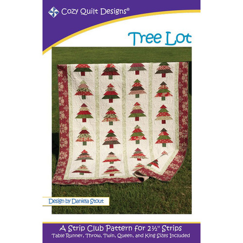 Tree Lot Quilt Pattern By Cozy Quilt Design