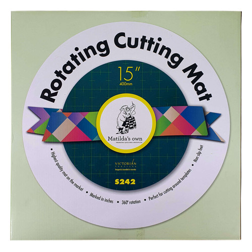 Rotating Cutting Mat 15 Inch Diameter Matilda's Own