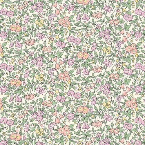 Liberty of London - Cottage Garden Forget Me Not Quilting Cotton