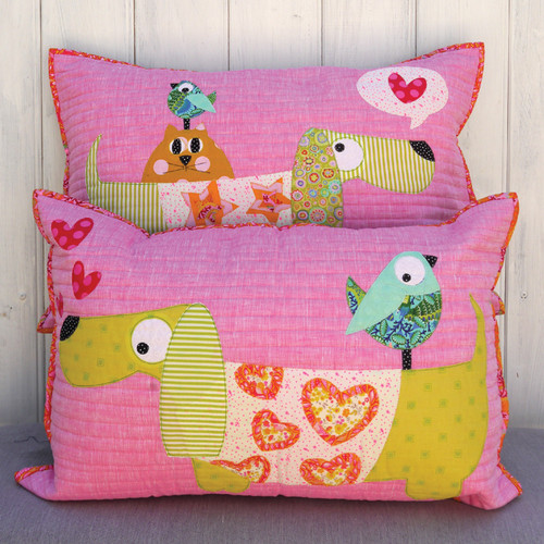Slim & Slinky Cushion Pattern By Claire Turpin Design