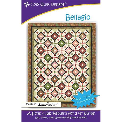 Bellagio Quilt Pattern By Cozy Quilt Design
