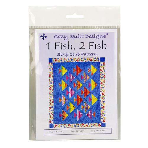 1 Fish 2 Fish Strip Club Quilt Pattern Cozy Quilt Designs