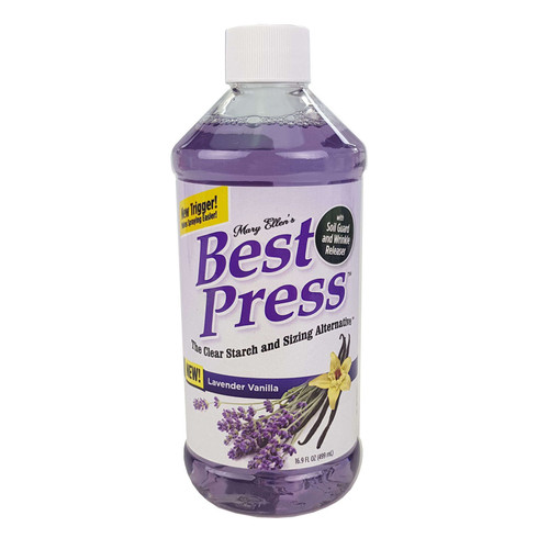 Mary Ellens Best Press Spray Starch Lavender Vanilla 473ml