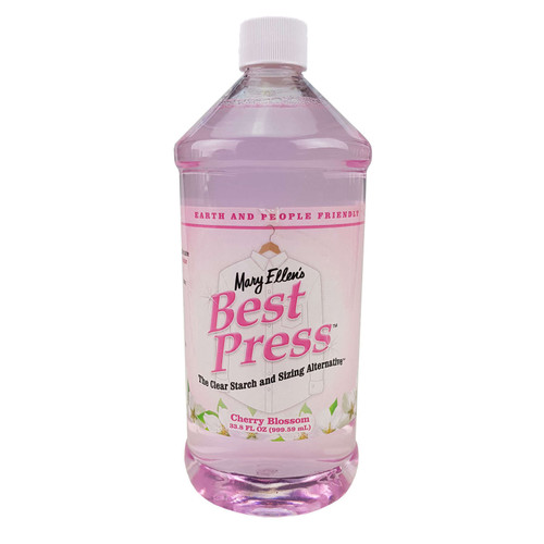 Mary Ellens Best Press Spray Starch Cherry Blossom 1L