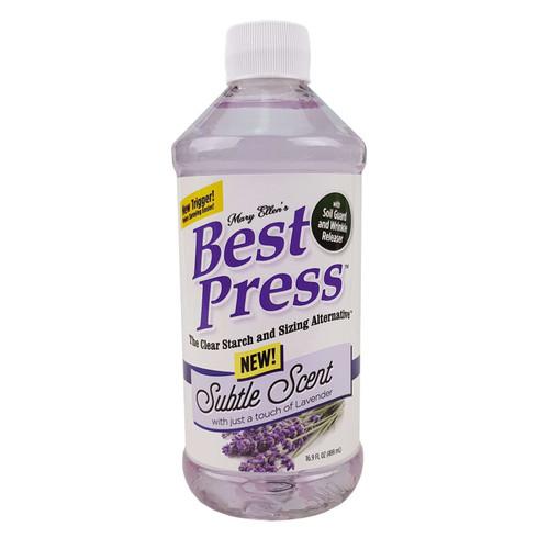 Mary Ellens Best Press Spray Starch Subtle Scent Lavender 473ml