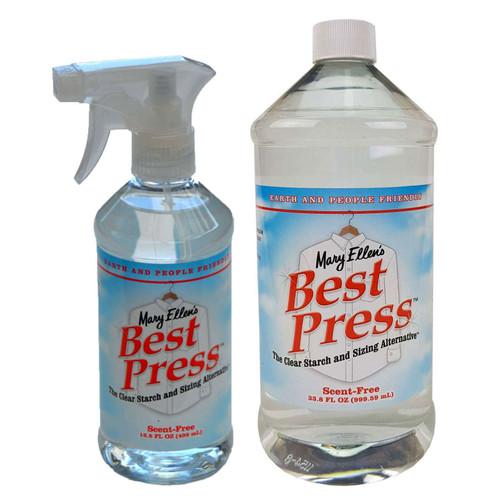 Mary Ellens Best Press Spray Starch Scent Free 1L & 473ml