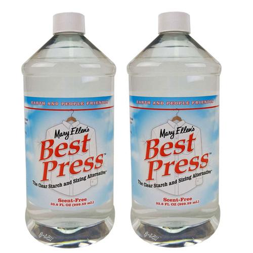 Mary Ellens Best Press Spray Starch Scent Free 2 x 1000ml Refills