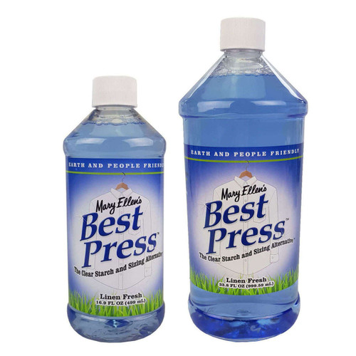 Mary Ellens Best Press Spray Starch Linen Fresh 1L & 473ml