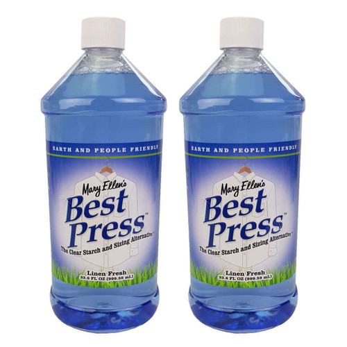 Mary Ellens Best Press Spray Starch Linen Fresh 2 x 1000ml Refill