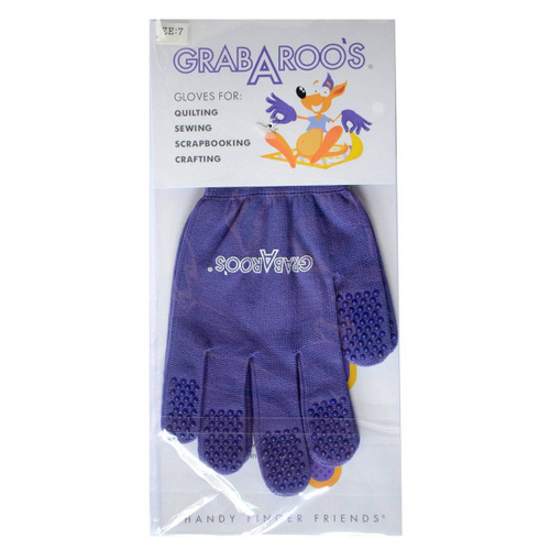 Grabaroo Quilting Gloves 3 Sizes Available