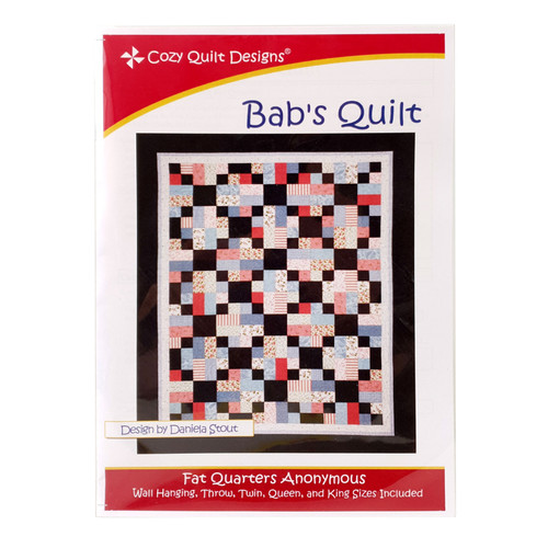 Bab's Quilt Pattern By Cozy Quilt Design