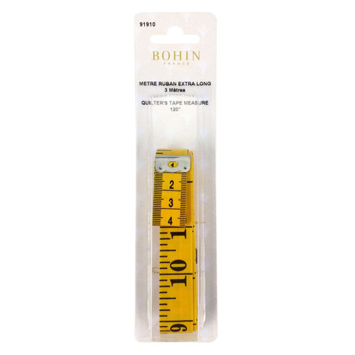 Bohin 120 Inch Quilters Tape Measure
