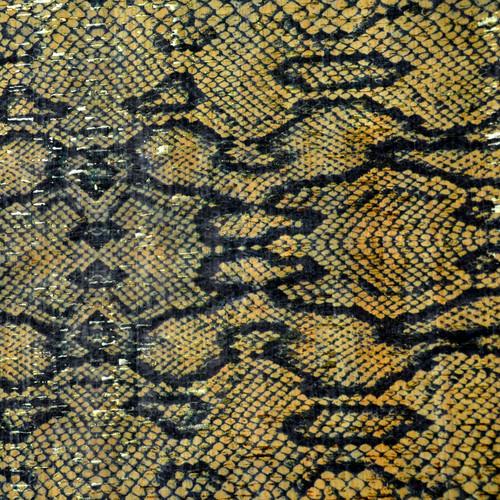 "Cork Fabric Python 18"" x 15"" Prepack"