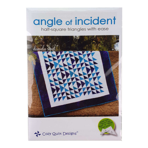 Angle Of Incident Quilt Pattern By Cozy Quilt Patterns
